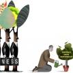 Companies aren't charities