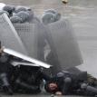 Tear gas, not tulips