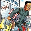 Mr China goes shopping