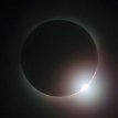 The solar eclipse in China