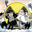 When nuclear sheriffs quarrel