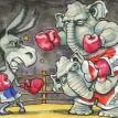 Republicans, riven but resurgent