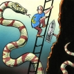 Euro snakes and ladders