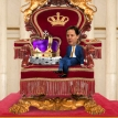 The little party behind the throne