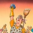 Hail, the Swabian housewife