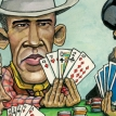 Playing poker with the world