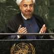 Rohani's outstretched hand