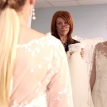 Of bridal dresses and sweatshirts