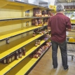 Empty shelves and rhetoric