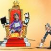 Monarchs versus managers