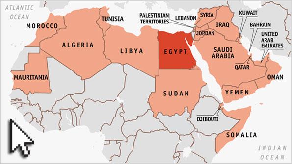 Arab League map Mapping the Arab world – Map Arab Countries