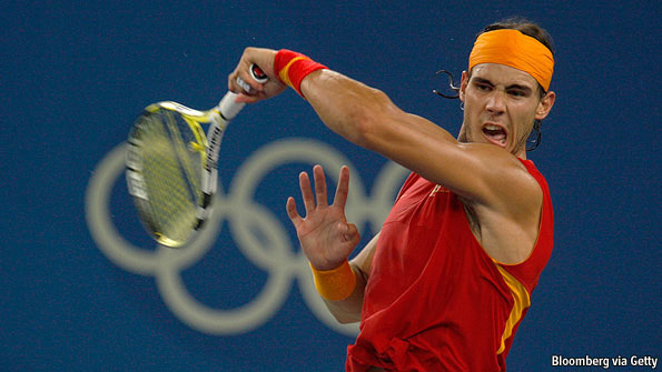 tennis at the olympic games  smash hit
