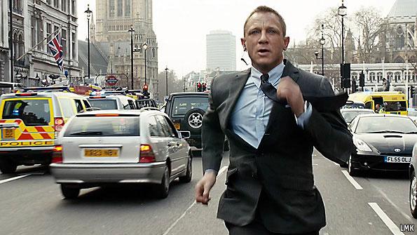 New Bond Car Skyfall