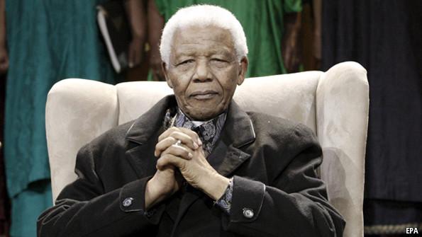 Mandela - Magazine cover