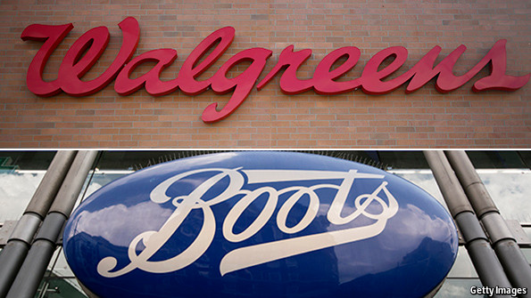 Schumpeter. Boots and Walgreens  Bet your boots   The Economist