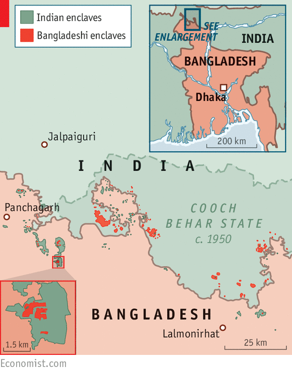 political relationship between india and bangladesh in world