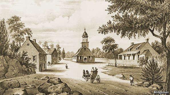 Early Churches in America Life of Early America is