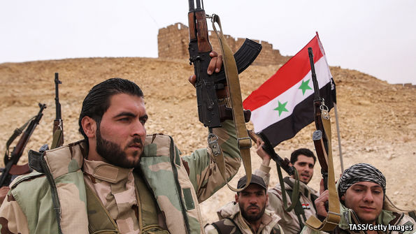 islamic state under pressure palmyra falls as the caliphate is