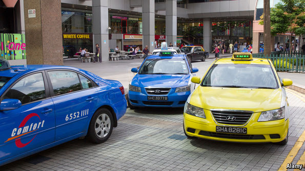 Are yellow cabs safer than other colors?