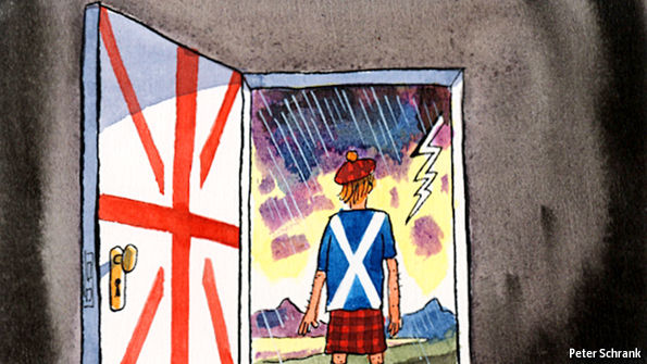 Battle of wills over independence referendum