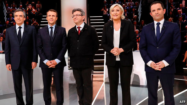A marathon television debate marks the real start to France's presidential campaign