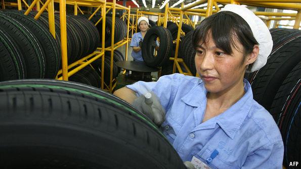 Big tyremakers are regaining their grip