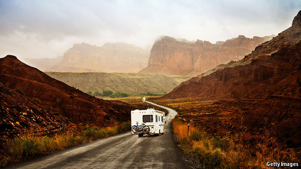 New types of driver embrace the recreational vehicle