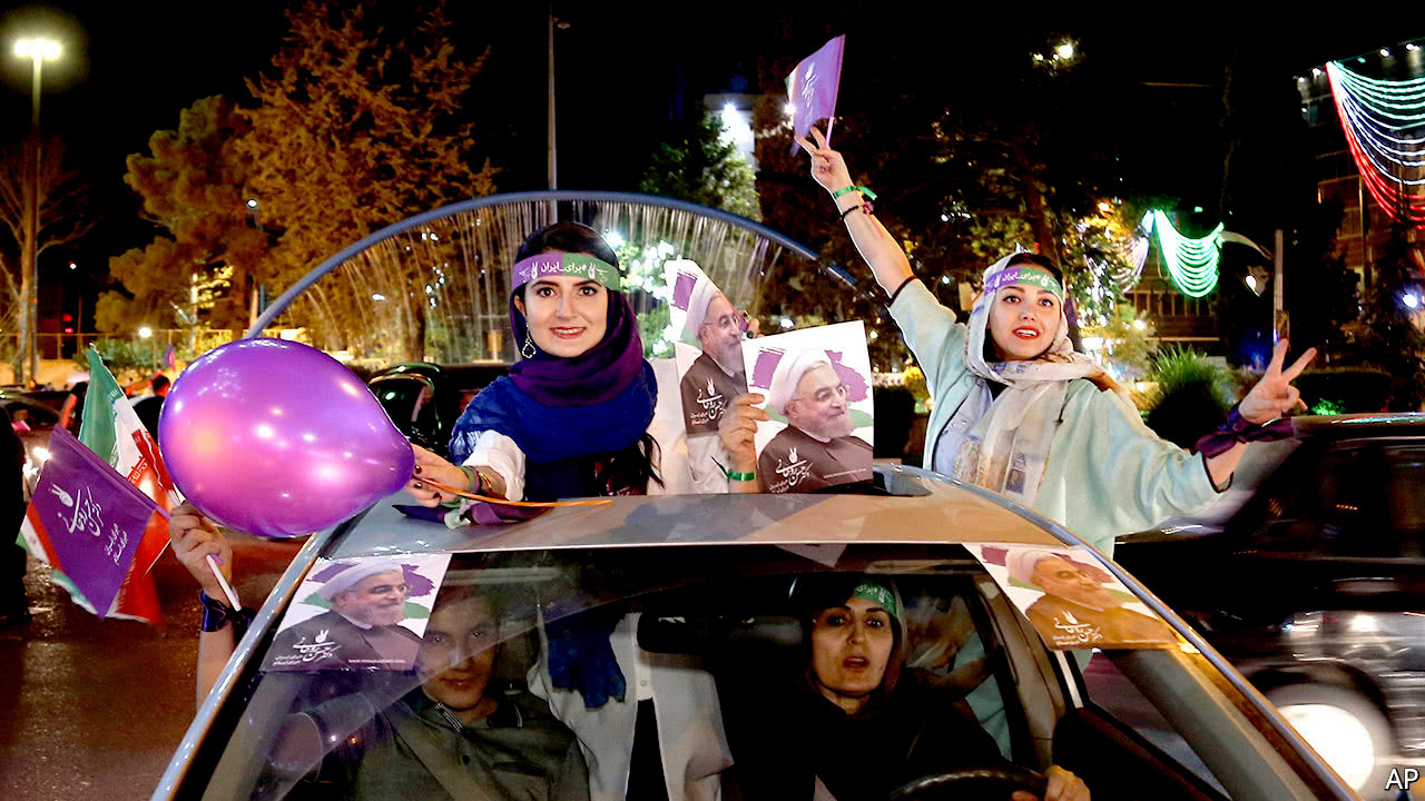 Hassan Rouhani re-elected as president of Iran