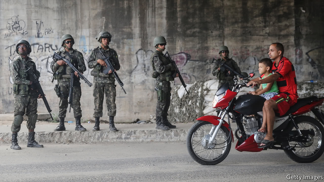 The Brazilian army is turning into a de facto police force