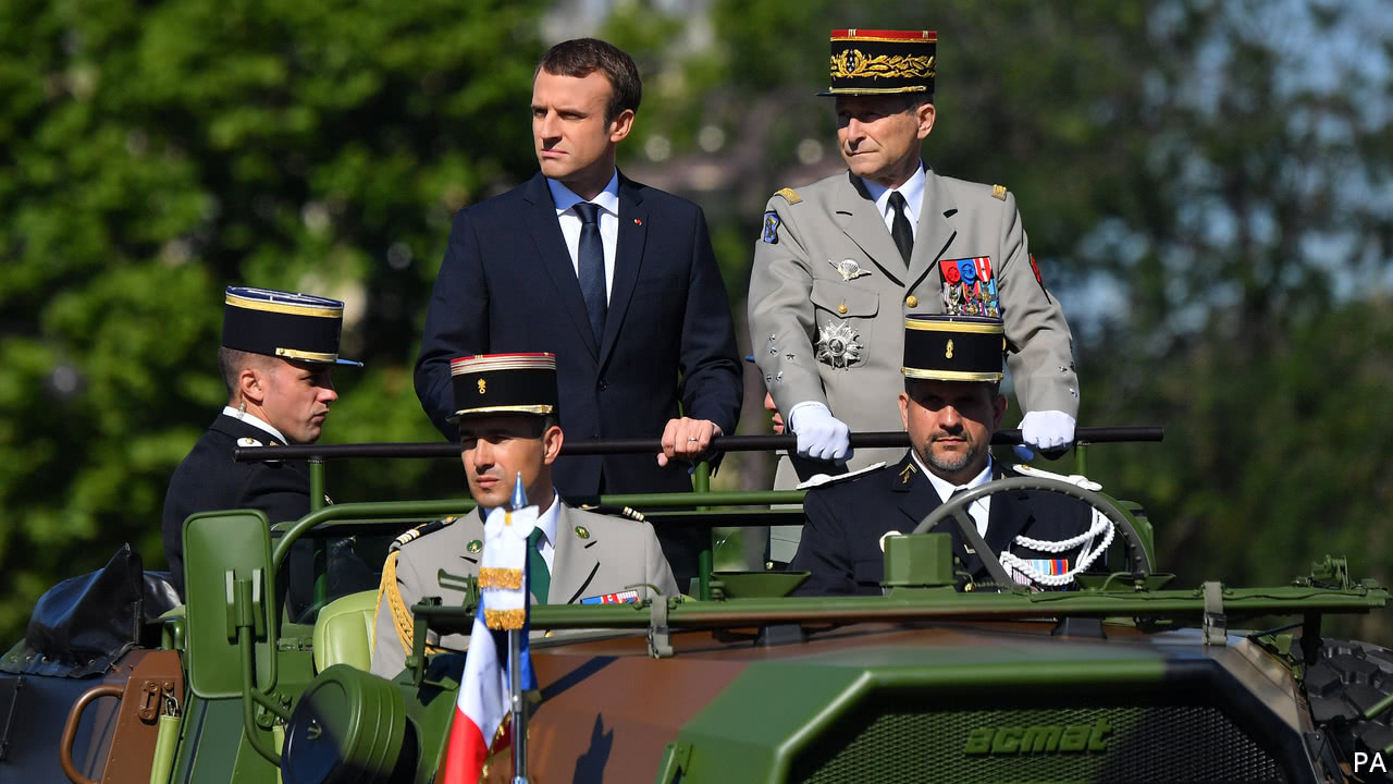 France's top general quits, in a test for Emmanuel Macron