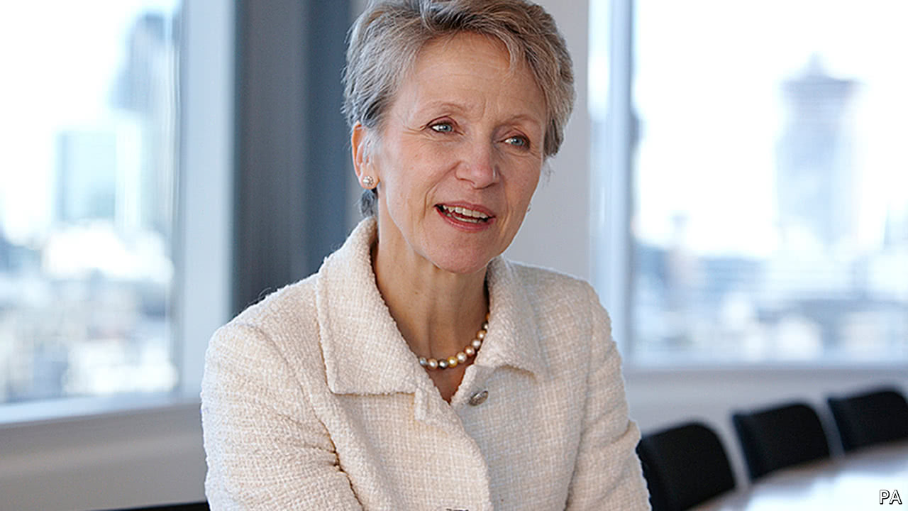 Helen Alexander, former CEO of The Economist Group, died on August 5th