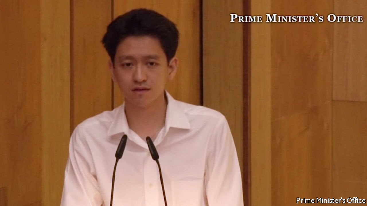 The nephew of Singapore's prime minister faces court
