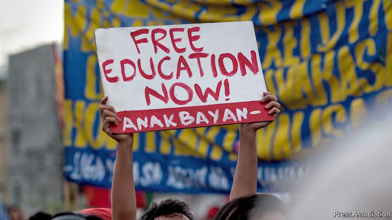 The Philippine president's zany ideas have not hurt the economy