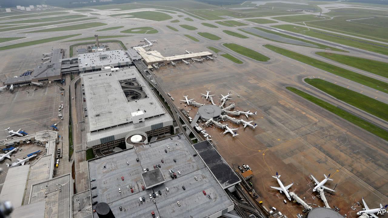 Hurricane Harvey wreaks havoc on American air travel