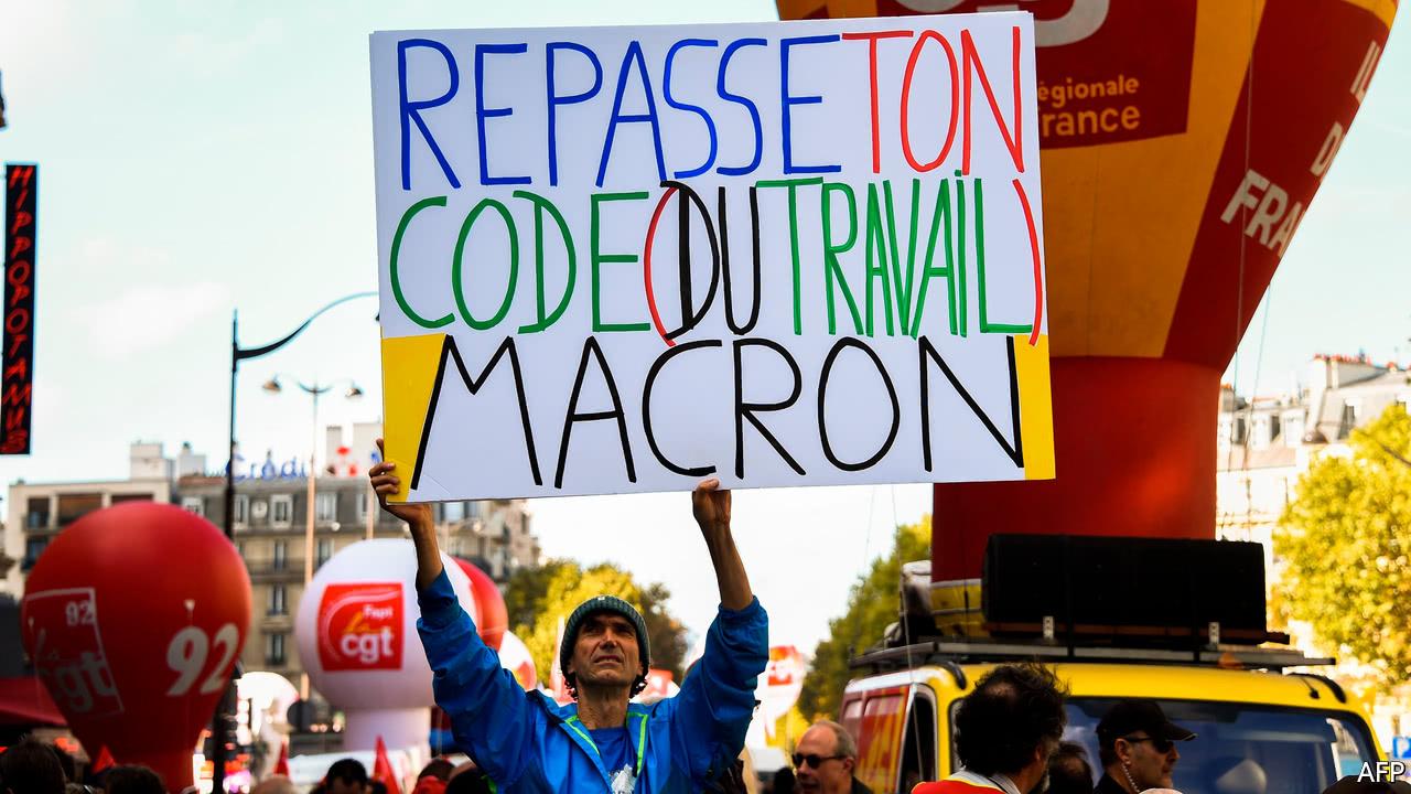 Emmanuel Macron's employment reforms may not go far enough