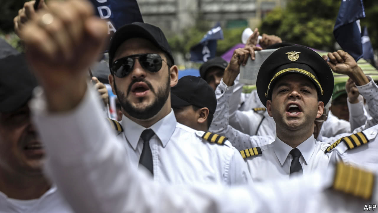 Avianca is rocked by striking pilots and warring owners