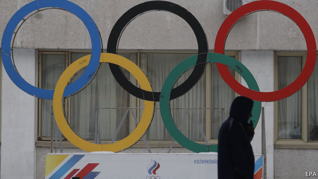 Russia is banned from the Winter Olympics