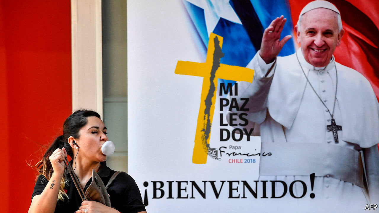 Chileans will be a tough crowd for Pope Francis