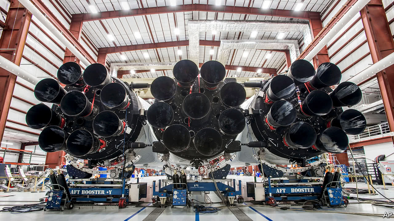 The biggest rocket in the world prepares for its maiden voyage