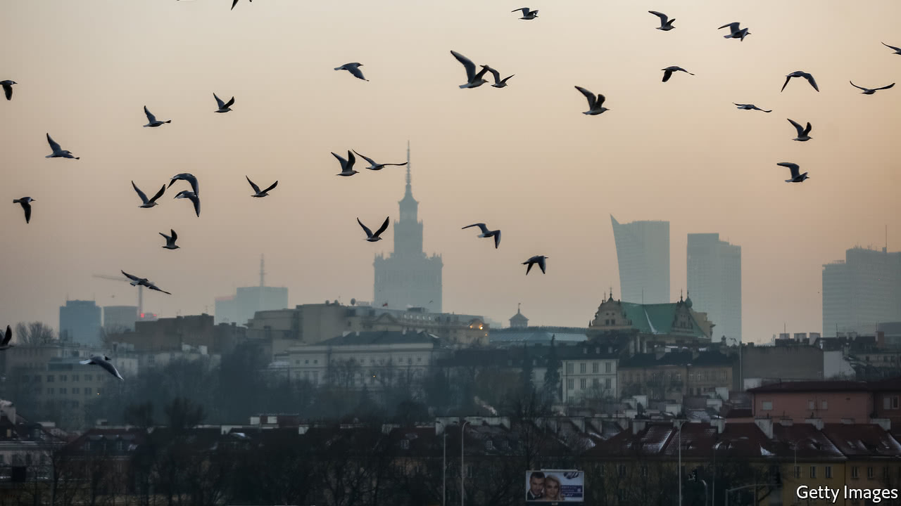 Why 33 of the 50 most-polluted towns in Europe are in Poland