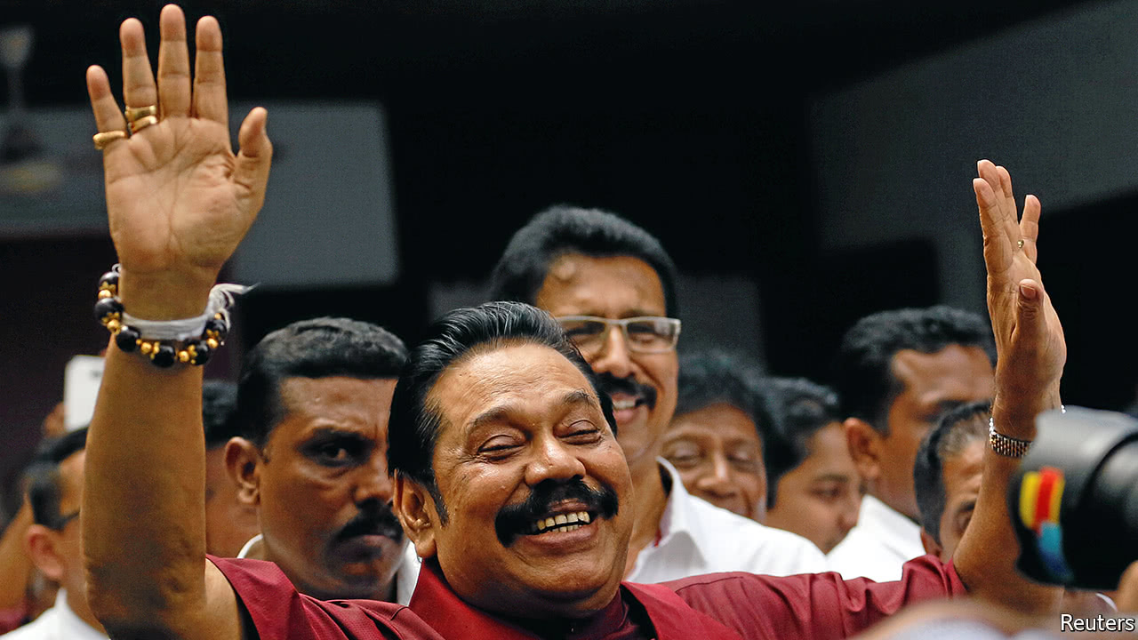 In Sri Lanka, local elections have rattled the government