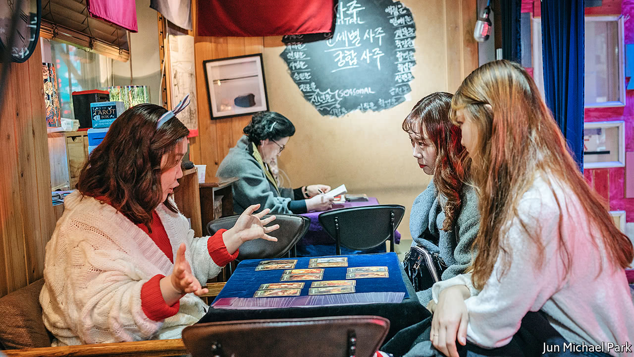 In South Korea fortune-telling will soon be a $3.7bn business