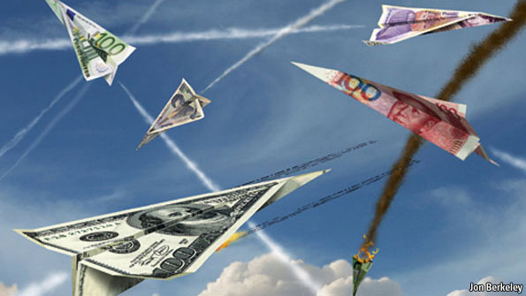 currency war Brazil's finance minister has warned of an international currency war as countries try to boost export competitiveness.