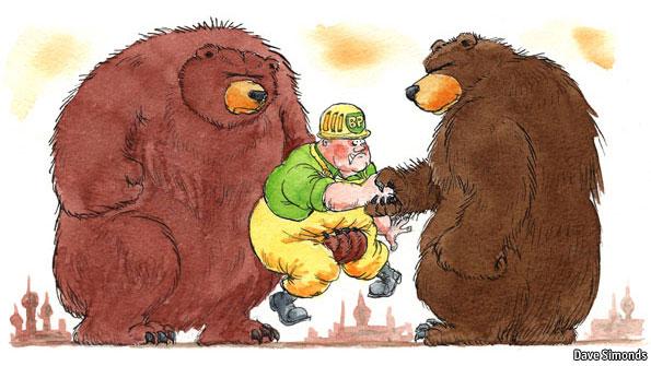 dancing bears the economist