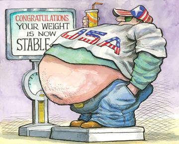 The fat plateau   The Economist