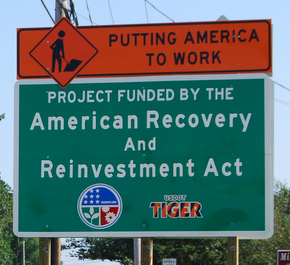 stimulus road sign
