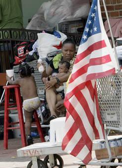 flag, poverty