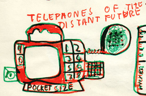 A vision of the mobile-phone future from 1974