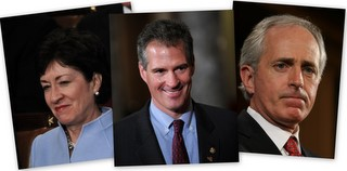 Susan Collins, Scott Brown, Bob Corker