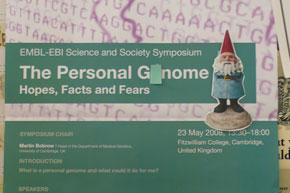 A personal genome seminar poster